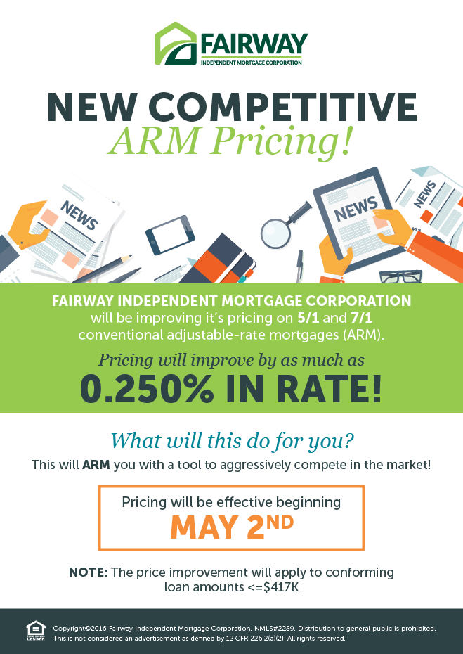 New Competitive ARM Pricing! bold text in green